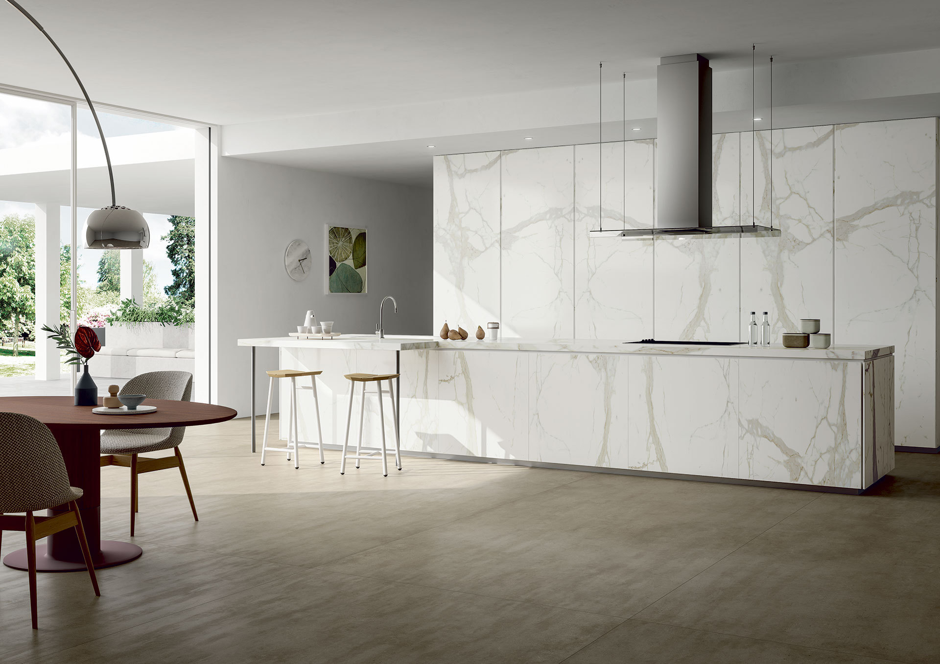 Porcelain Kitchen Countertops And Worktops Sapienstone